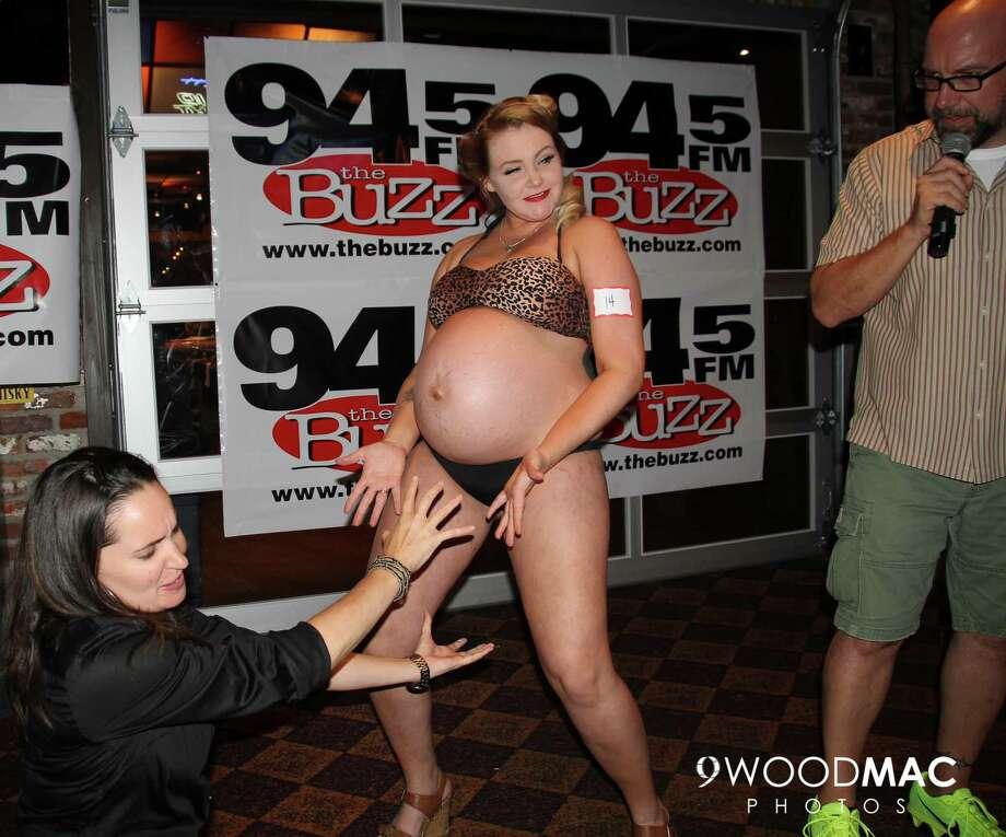 Pregnant mom bikini contest