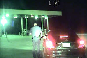 Pearland police release dash cam of ex-Oiler's traffic stop - Photo