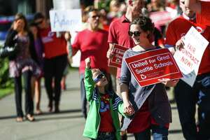 Seattle educators vote to strike if no agreement reached - Photo