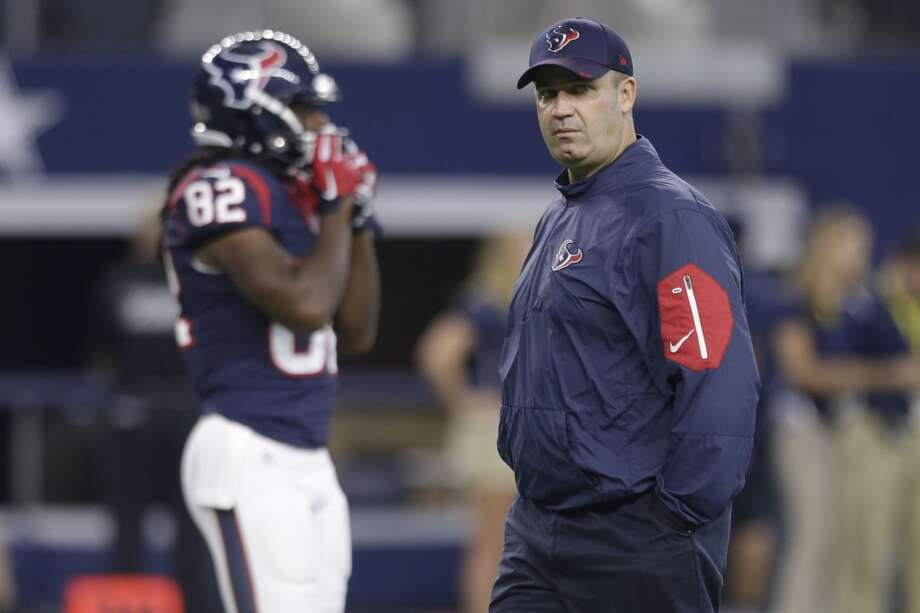 Houston Texans head coach Bill O'Brien walks on the field before an NFL pre-season football game against the Dallas Cowboys at AT&T Stadium on Thursday, Sept. 3, 2015, in Arlington. ( Brett Coomer / Houston Chronicle ) Photo: Brett Coomer, Houston Chronicle