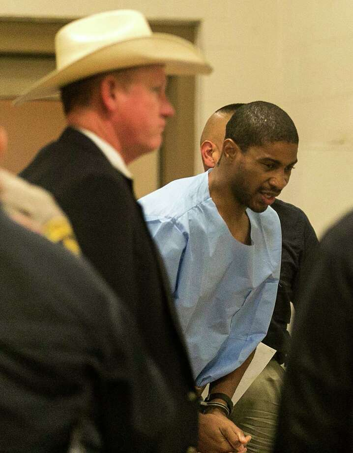 Former Austin police officer VonTrey Clark is facing a capital murder charge in the death of his pregnant girlfriend. Photo: Rodolfo Gonzalez /Associated Press / Austin American-Statesman
