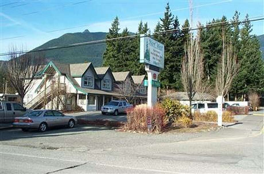 The Nor'West apartments, pictured in a King County Assessor's Office photo. Police say Albert Garza was shot dead while visiting a friend at the North Bend apartment building.