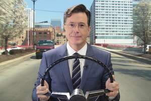 Colbert makes his case for viewers' late-night vote - Photo
