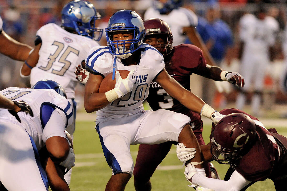Joel Denly | Running back West Brook | Senior Denly rushed for 1,271 yards and 17 touchdowns as a junior and returns as a key offensive starter for the Bruins.