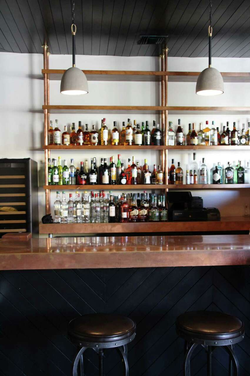 On the Brigid side, find a modern American restaurant helmed by chef Chris Carlson (former executive chef of The Sandbar). Olaf Harmel, former barkeep at Blue Box -- you might know him from his intimate upstairs bar) will be heading up Brigid's drink program.