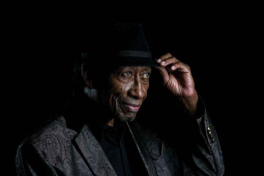 Horace Grigsby, who turned 80 Wednesday, has been singing jazz in Houston since the 1960s. Photo: Gary Coronado, Staff / © 2015 Houston Chronicle