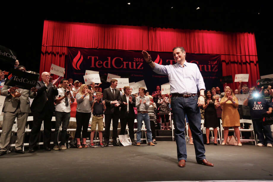 Republican presidential candidate Senator Ted Cruz, R-Texas, speaks at a Constitution Day celebration sponsored by the Kingwood Tea Party, Thursday, September 3 in Kingwood, Texas.  ( Jon Shapley / Houston Chronicle ) Photo: Jon Shapley, Jon Shapley/Houston Chronicle / Staff