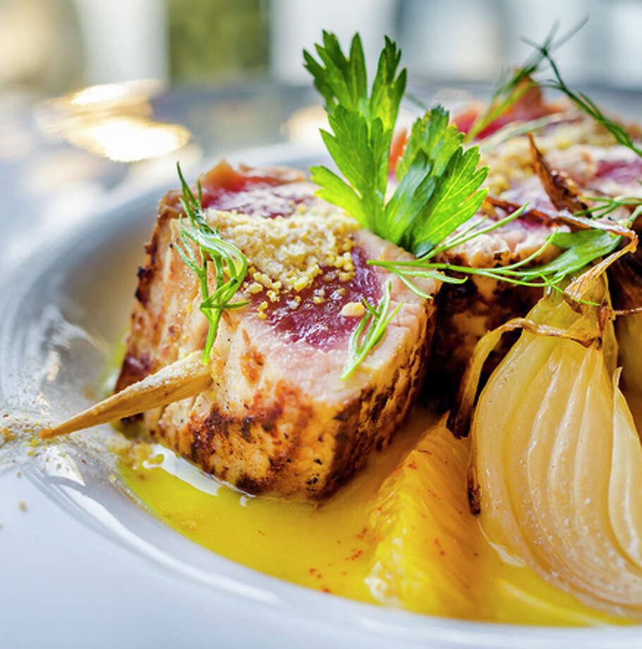 Nalu Kai chef Noelani Planas' seafood creations are offered during Tasting Kauai's new North Shore Food Tour. Photo: Tasting Kauai / ONLINE_YES