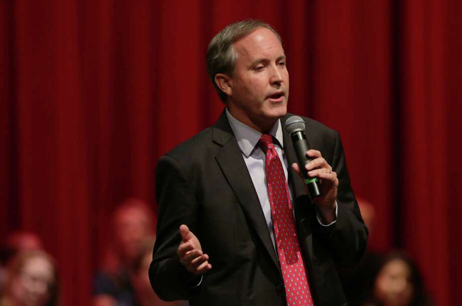 Texas Attorney General Ken Paxton speaks at a Constitution Day celebration, sponsored by the Kingwood Tea Party on Thursday in Kingwood. Photo: Jon Shapley, Houston Chronicle / © 2015 Houston Chronicle