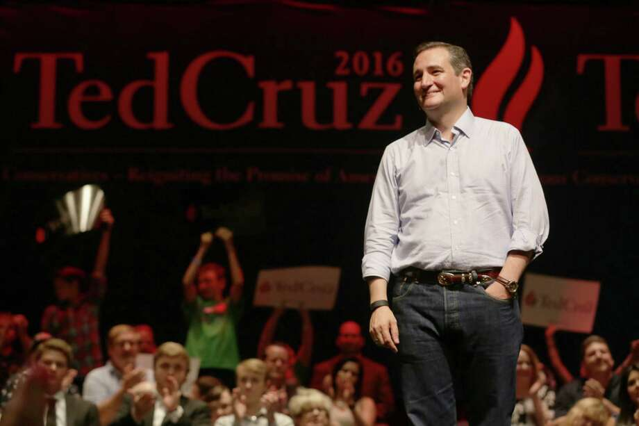 Senator Ted Cruz, R-Texas, a republican presidential candidate, speaks at a Constitution Day celebration, sponsored by the Kingwood Tea Party, Thursday, Sept. 3, 2015, in Kingwood. Photo: Jon Shapley, Houston Chronicle / © 2015 Houston Chronicle