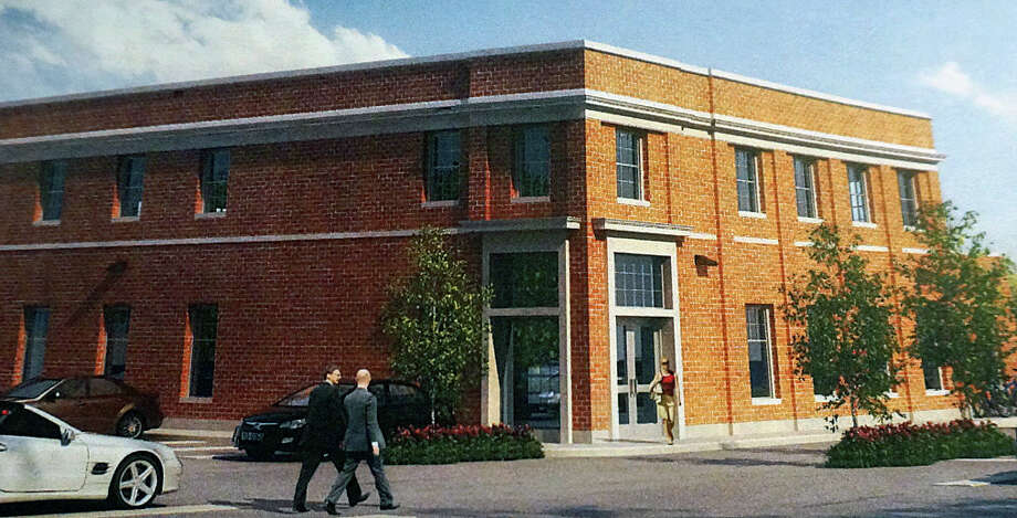 A rendering of a medical office building proposed for the site of the now-closed Blinn's Toy Store on Unquowa Place. Photo: Contributed Photo / Fairfield Citizen /  Fairfield Citizen contributed