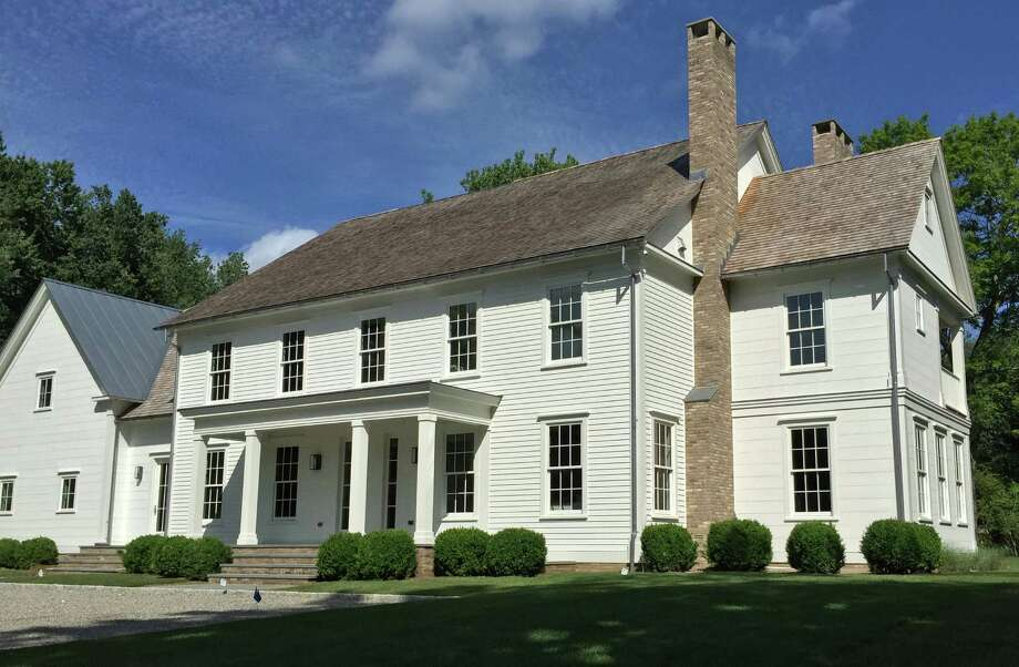 The property at 3 Moss Ledge Road is on the market for $3,795,000. Photo: Contributed / Contributed Photo / Westport News