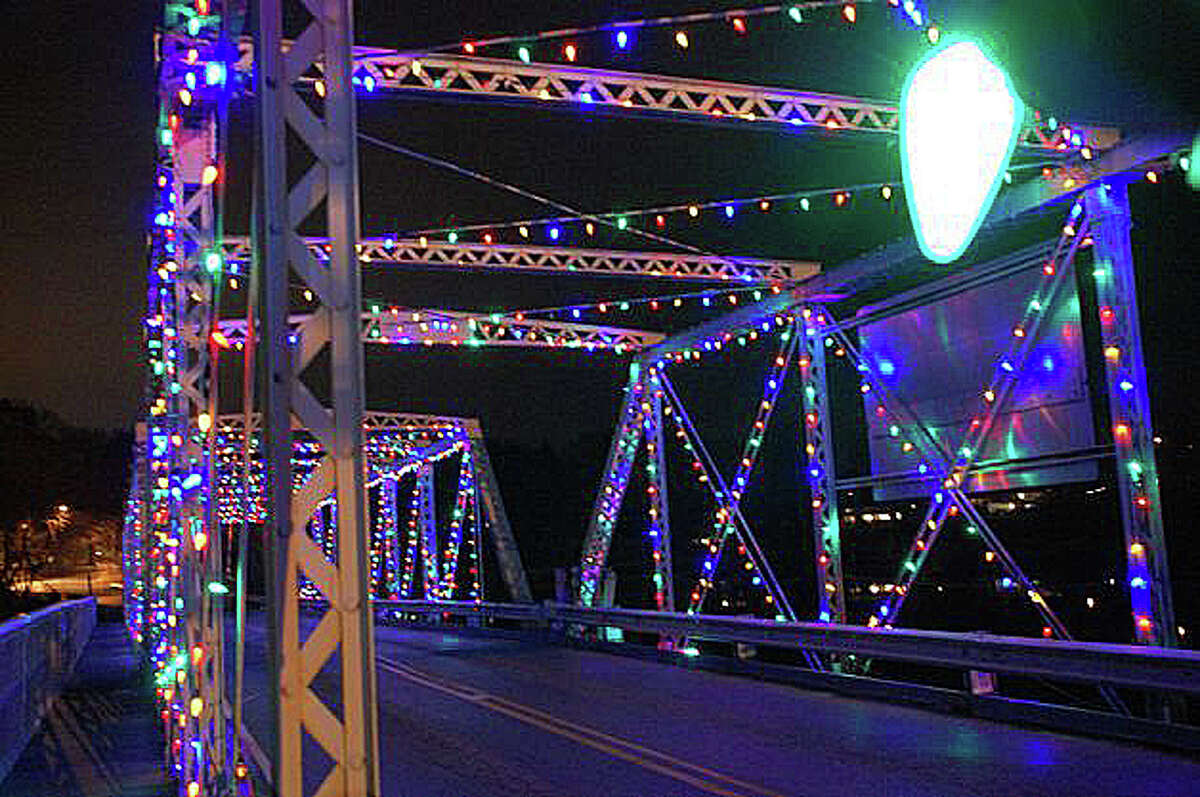 """Though holiday lights may dress up the Bridge Street bridge, columnist Dan Woog writes there appears to be a consensus to fix the """"crumbling"""" span. """"Actually, it's the William F. Cribari Bridge. The name honors the longtime and very theatrical traffic cop who did what he could to untangle the vehicular mess right there. But don't mess with the bridge itself."""""""