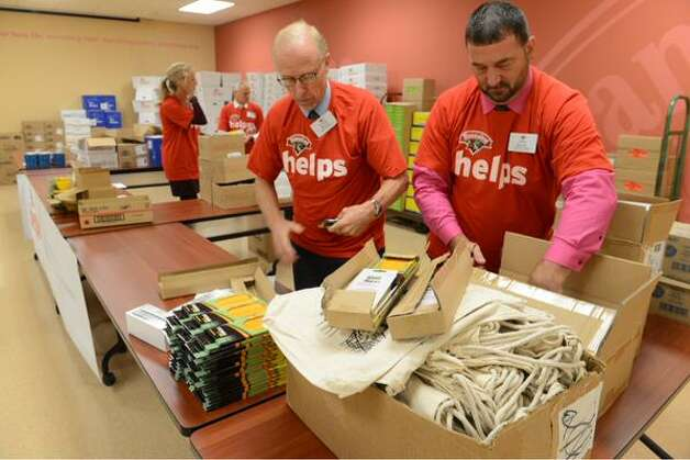 Hannaford announced on Friday, Sept. 4, 2015, it will donate $115,000 to children's groups in the Capital Region, including $35,000 for classroom supplies and snacks. (Will Waldron/Times Union)