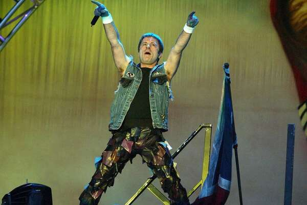 The Download Festival, Donnington Park, Britain - 31 May - 01 Jun 2003, Bruce Dickinson - Iron Maiden