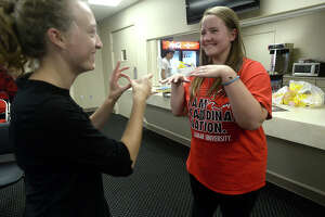 Sign language classes, interpreters break down barrier between the hearing and the deaf - Photo