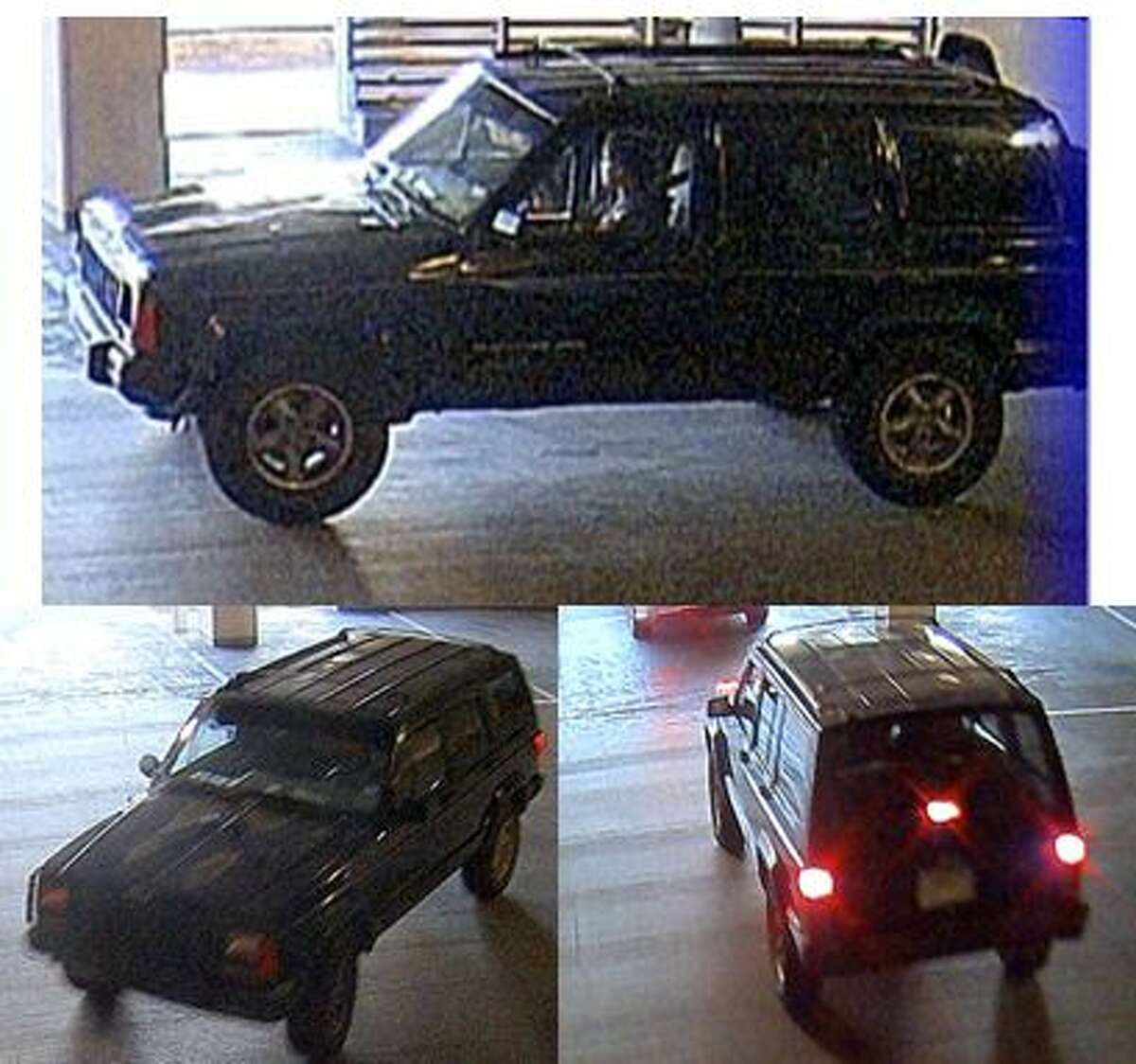 Dallas Police are looking for this Jeep Cherokee in the killing of Kendra Hatcher.