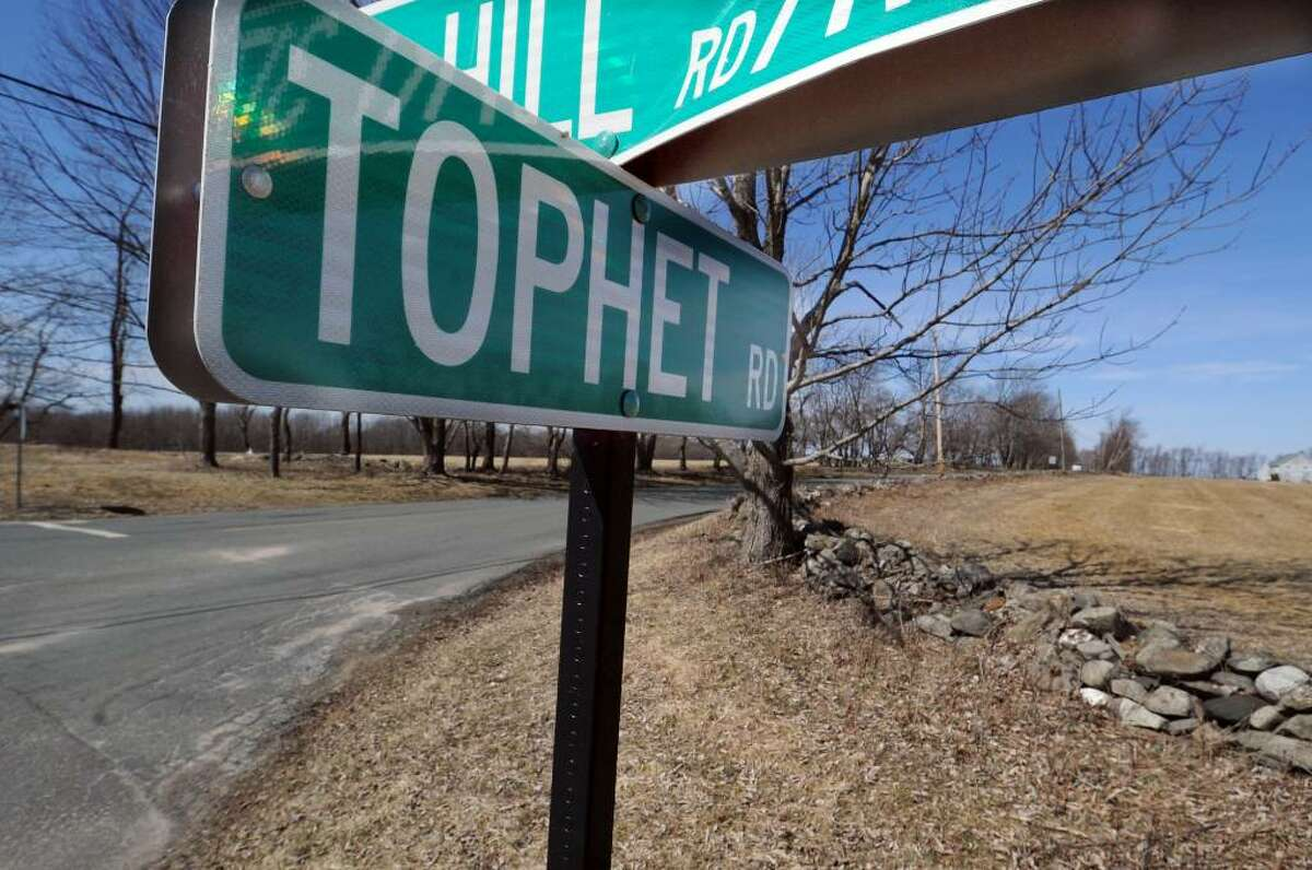 Tophet Road in Roxbury has been the home of many famous authors.