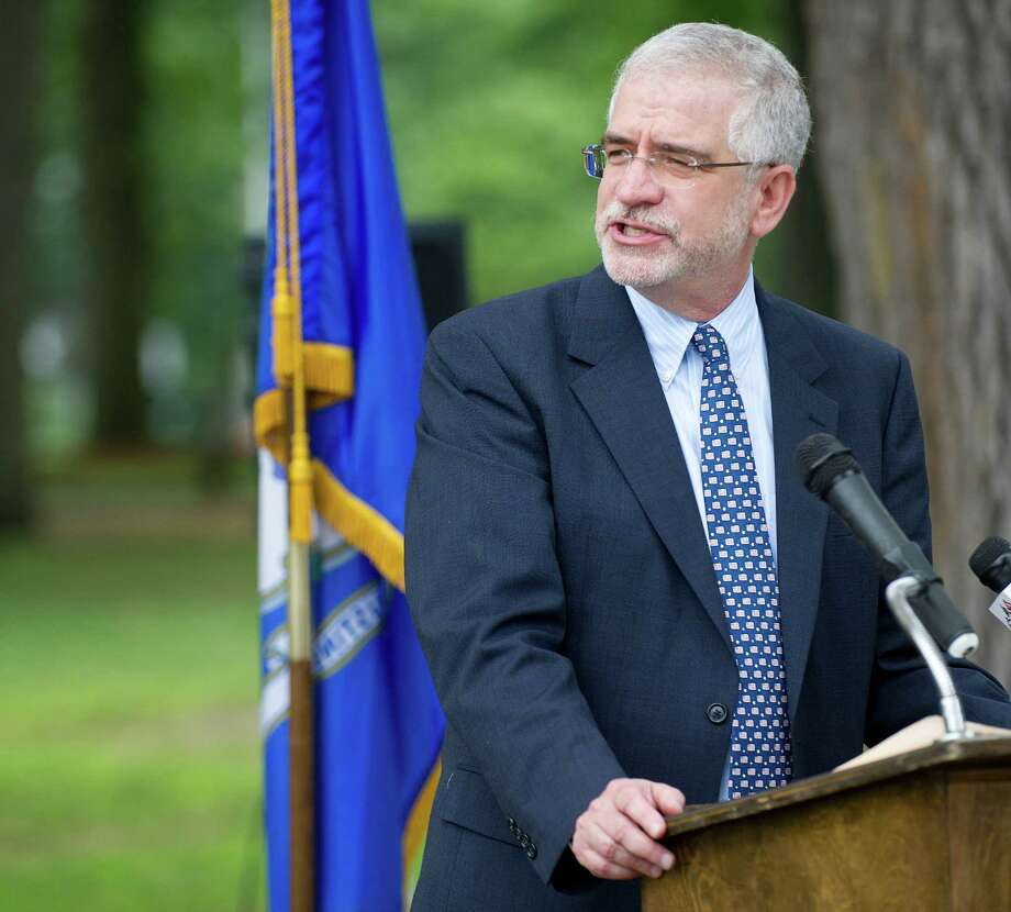 Randall Skigen, president of the Stamford Board of Representatives. Photo: Lindsay Perry / File Photo / Stamford Advocate