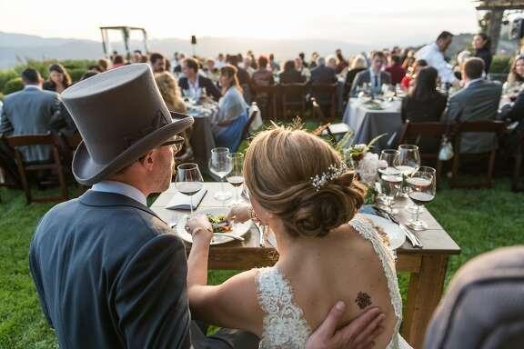 Alan Kropf & Ashley Teplin wed May 16, 2015 in Napa Valley.