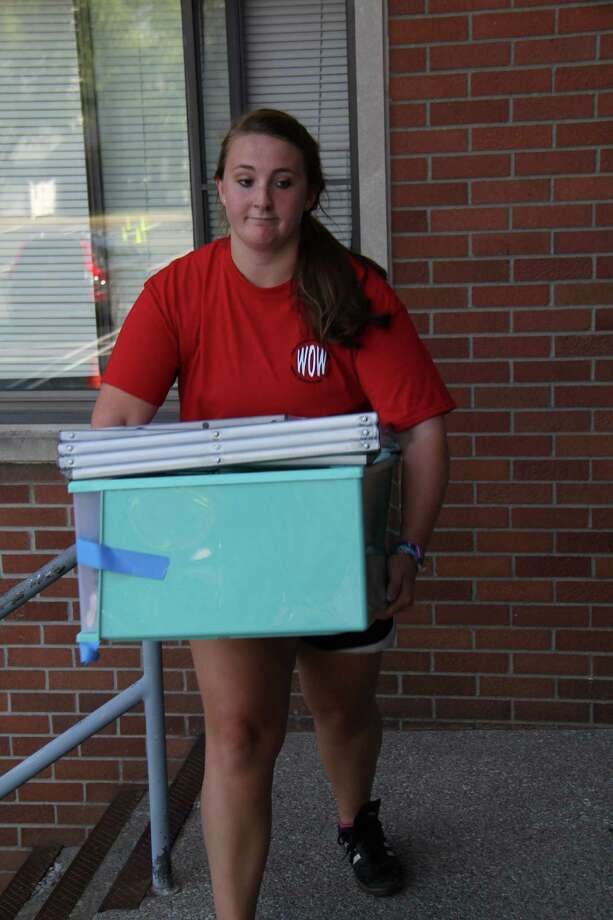 Were you Seen at Move-In Day for first-year students at The College of Saint Rose in Albany on Saturday, Aug. 29, 2015? Photo: Benjamin Marvin