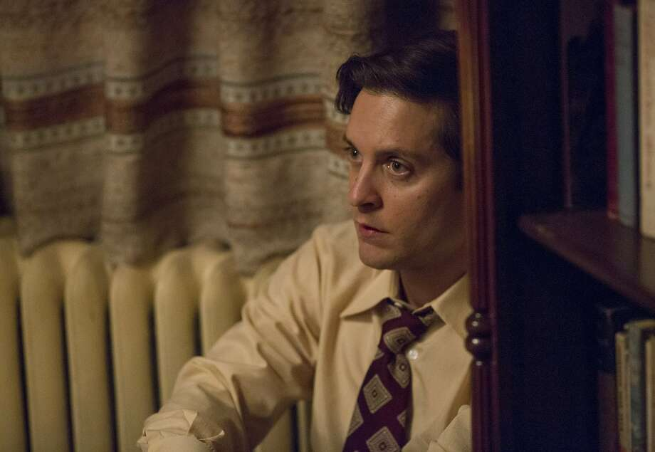 "Tobey Maguire stars as troubled chess champion Bobby Fischer in Edward Zwick's ""Pawn Sacrifice,"" a PG-13 Bleecker Street release in theaters Friday, Sept. 18.  Photo by Takashi Seida Photo: Takashi Seida"