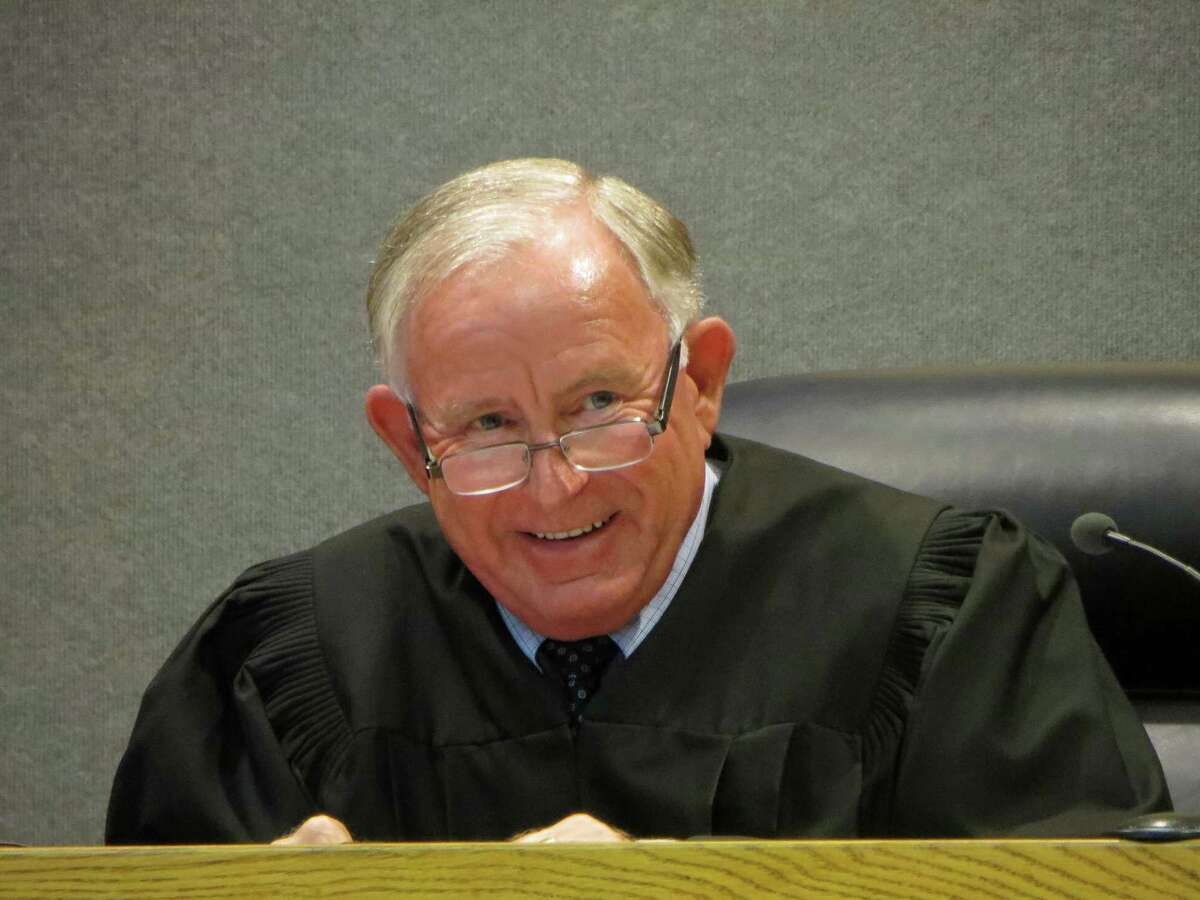 State District Judge Jack Robison said he expects his ruling to be appealed, whether he grants or denies a defense motion seeking dismissal of the charge against Justin Carter.