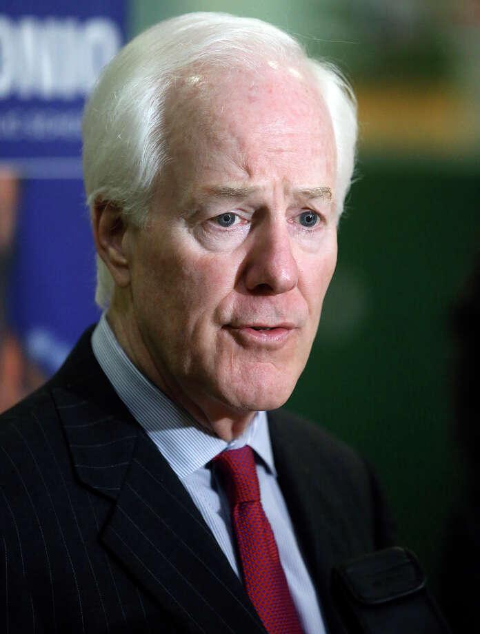 Sen. John Cornyn: President should go back to the negotiating table on Iranian nuclear deal. Photo: TOM REEL /San Antonio Express-News / San Antonio Express-News