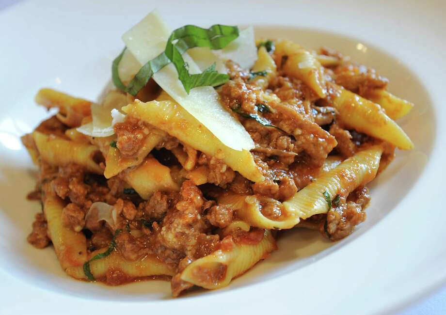 Garganelli duck ragu at Maestro's at the Van Dam on Monday, Aug. 24, 2015 in Saratoga Springs, N.Y. (Lori Van Buren / Times Union) Photo: Lori Van Buren / 00033079A