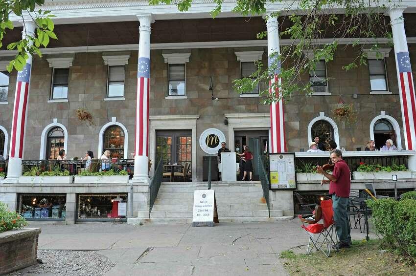 Exterior of Maestro's at the Van Dam on Monday, Aug. 24, 2015 in Saratoga Springs, N.Y. (Lori Van Buren / Times Union)