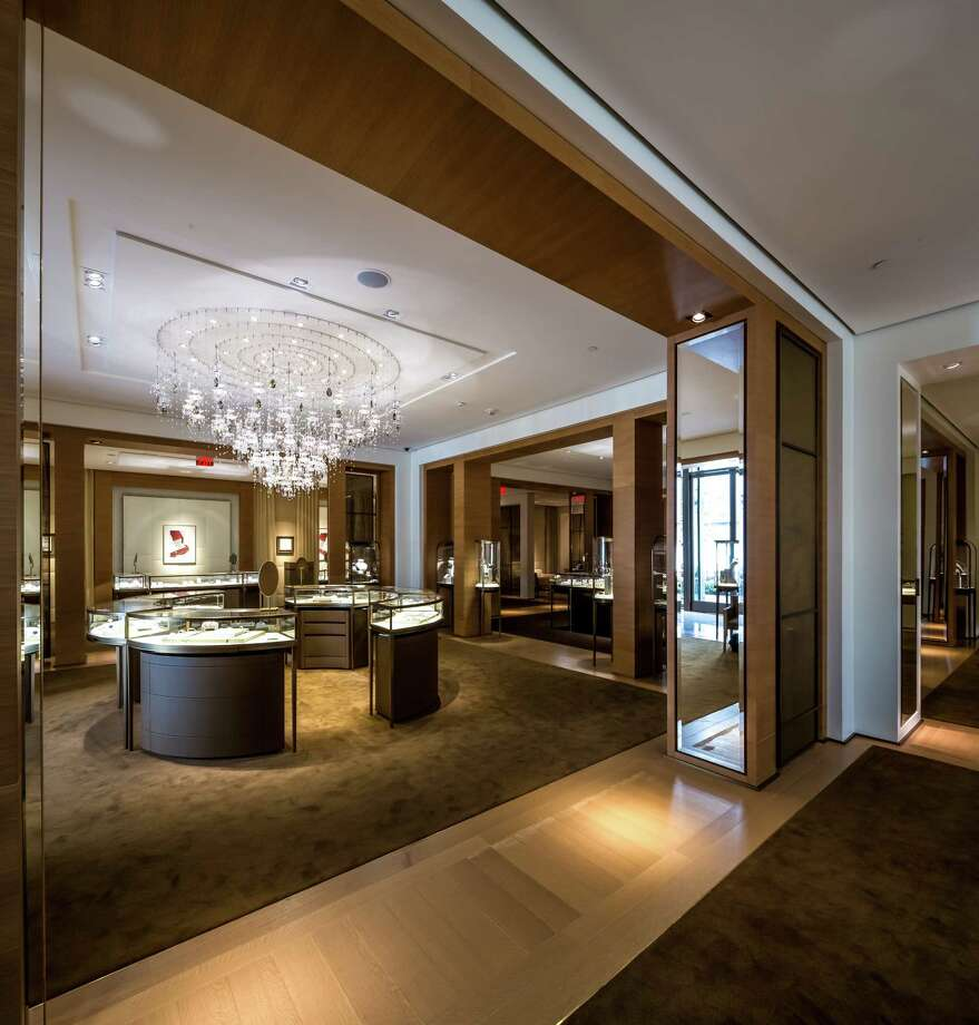 The interior of the new Cartier store in River Oaks District. Photo: Slyworks Photography / Slyworks Photography