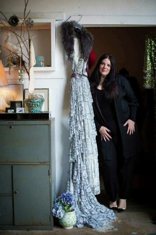 Dawn Bell, a vintage collector and designer, is part of the organizing efforts behind the Houston Vintage Festival & Market that will bring vendors from surroundings areas into town. Photo: Marie D. De Jesus, Staff / © 2015 Houston Chronicle