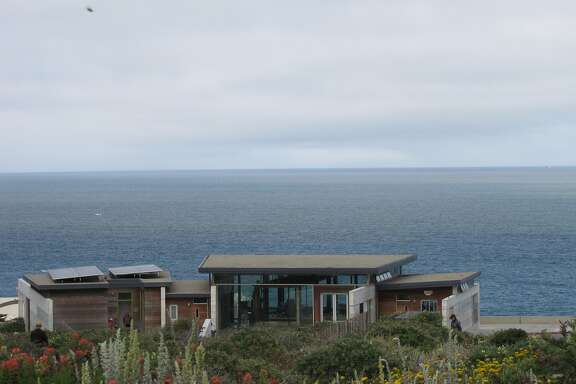 The visitor's center at Lands End, designed by the architecture firm EHDD, is one of the city's most striking modern buildings -- and appropriately so, since it's in one of the most striking physical locations.