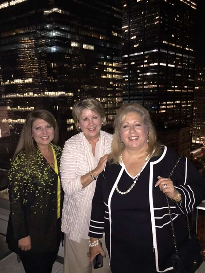Renee Eads (left), Cheri Fama and Anne Incorvia (right) spent last week in the Big Apple for the Luxury Portfolio International Regional Conference at Marriott. The hotel is next to Freedom Tower in the financial district.