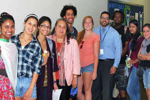 Naugatuck college president visits Danbury students - Photo