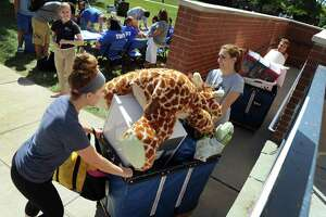 Hundreds of new students move into WCSU - Photo