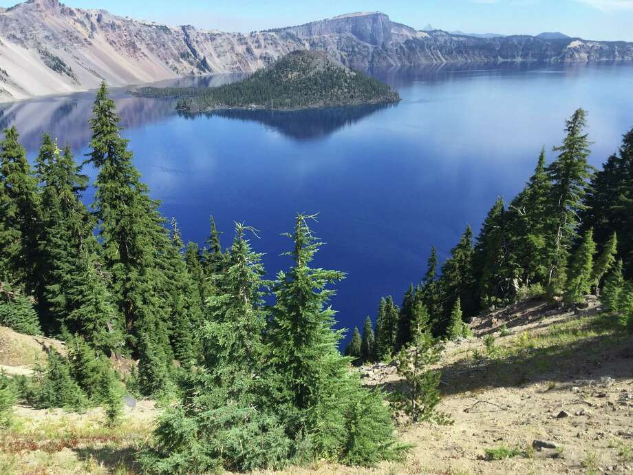 Chronicle reader Donna Zapatka of Humble submitted this vacation photo taken in Crater Lake National Park, Oregon. Photo: Donna Zapatka / Donna Zapatka