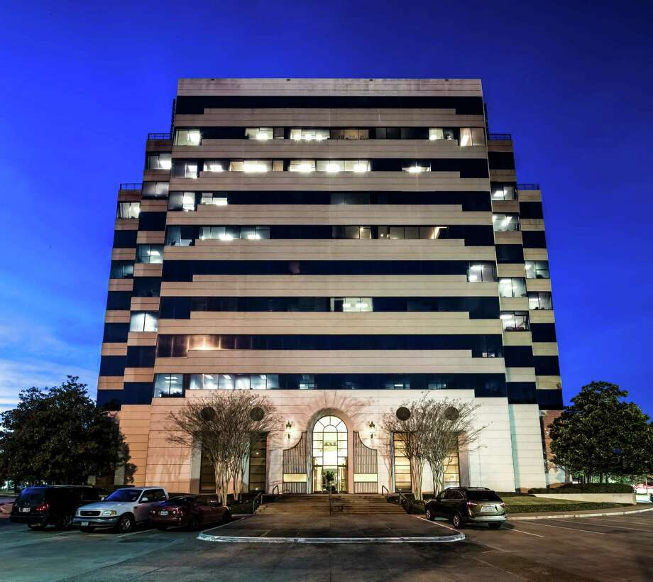 The Comerica Bank building at 1 Sugar Creek Center Blvd. in Sugar Land represents the first investment in the Houston market for Equus Capital Partners, which is planning improvements. / Slyworks Photography