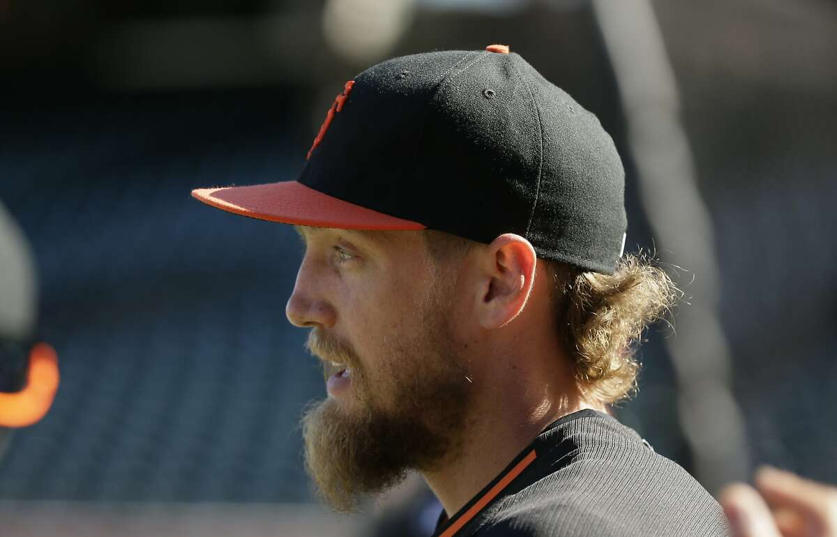 The Giants were in trouble as soon as they couldn't take the field with players like Hunter Pence in the lineup.