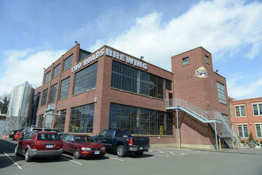 A fundraiser will be held at Two Roads Brewery for those who would like to see Stratford sell the waste treatment plant to the Greater New Haven Water Pollution Control. Protesters from the Get Answers anti-sale effort are expected to be on site at the event on Wednesday, Sept. 9, 2015. Photo: Autumn Driscoll / File Photo / Connecticut Post