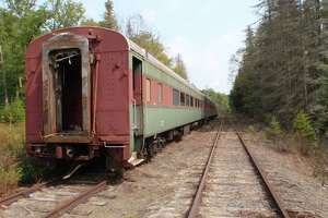 Adirondack railroad already storing old rail cars in High Peaks - Photo