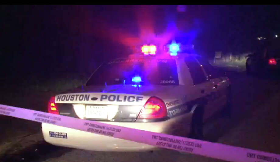 HPD shot a man who was firing his gun at a family member's house on Chennault in southeast Houston early Saturday morning. Photo: Screen Shots Metro Video
