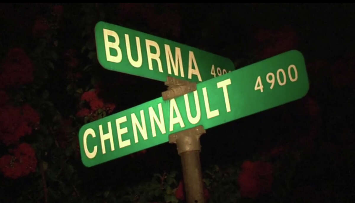 HPD shot a man who was firing his gun at a family member's house on Chennault in southeast Houston early Saturday morning.