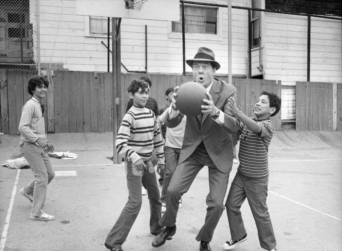 "Karl Malden in ""The Streets of San Francisco."""