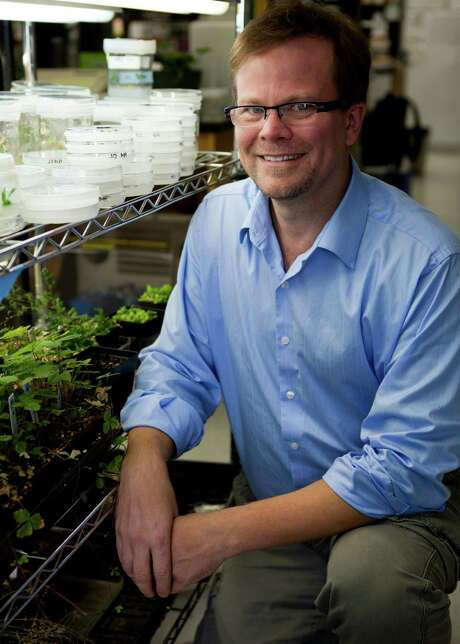 Kevin Folta, chairman of the horticultural sciences department at the University of Florida. is among the most aggressive academic proponents of biotech crops and has ties to Monsanto. Photo: TYLER JONES, HO / UNIVERSITY OF FLORIDA