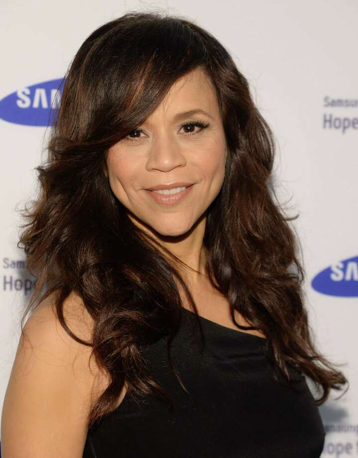 "FILE - In this June 10, 2014 file photo, Rosie Perez arrives at the Samsung Hope for Children Gala 2014 in New York. Perez and Republican media operative Nicolle Wallace are joining ABC's daytime chat show, ""The View,"" for its new season, beginning Sept. 15. (Photo by Evan Agostini/Invision/AP, File) ORG XMIT: CAET662 Photo: Evan Agostini / Invision"