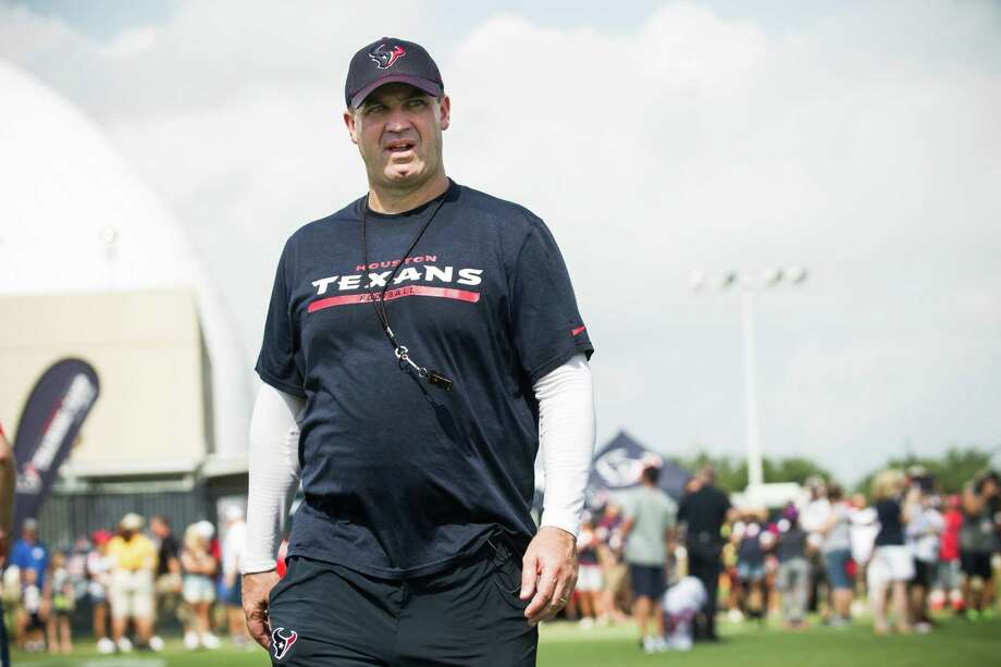 With roster decisions largely behind him, Texans coach Bill O'Brien can turn his focus to preparing for the Chiefs. Photo: Brett Coomer, Staff / © 2015 Houston Chronicle