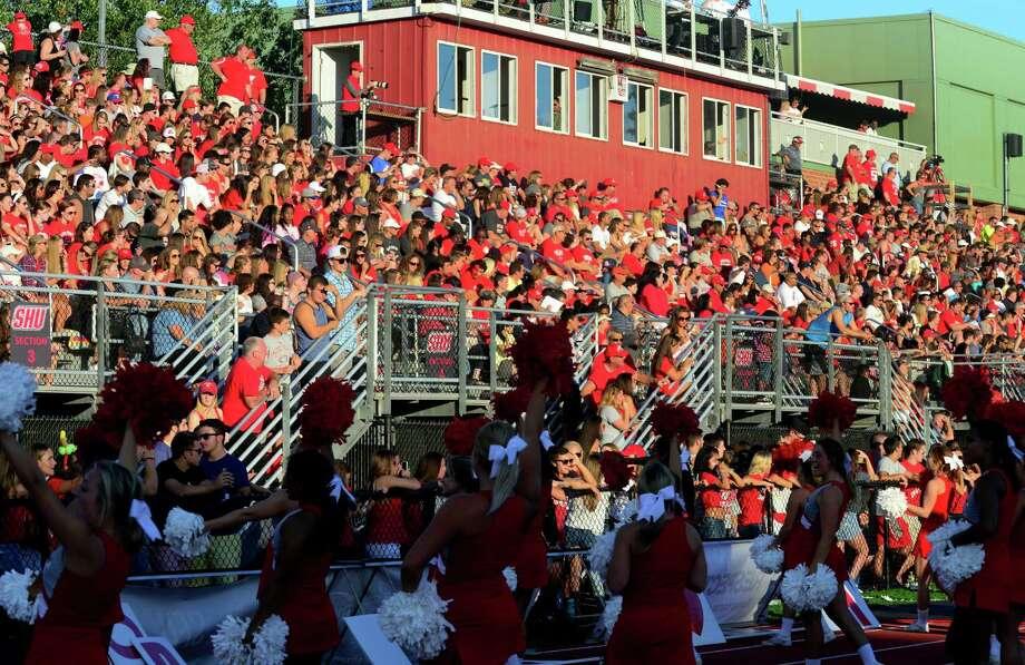 Sacred Heart University football action against Saint Anselm at Campus Field in Fairfield, Conn., on Saturday Sept. 5, 2015. Photo: Christian Abraham / Hearst Connecticut Media / Connecticut Post