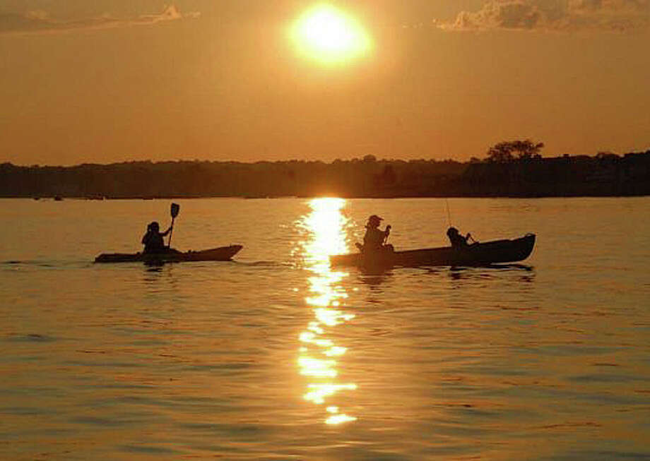 """On the morning of columnist Ron Blumenfeld's 68th birthday, he """"piloted a rented kayak out of Southport Harbor, with a plan to go east along the coast, slip into Pine Creek, and return to Southport Harbor with a strong sense of renewal ... (at voyage end) I wobbled out of the kayak in Southport Harbor an hour later, exhausted. Was this voyage life-affirming? On balance, I thought so, with lessons learned."""" Photo: Contributed / Contributed Photo / Fairfield Citizen"""