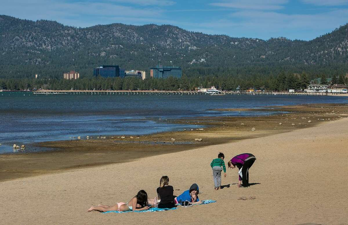 Lake Tahoe, like many lakes around the world, is rising in temperature. Tahoe's surface temperature reached 53 degrees last summer, the highest in more than a century.
